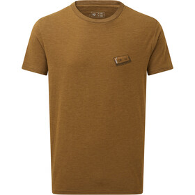 tentree Forest Mix SS Tee Herre Rubber Brown Heather